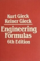 Engineering Formulas by Kurt Gieck