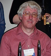 Author photo. Szymon Sokól (Worldcon 2005, Glasgow)