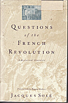 La Révolution en questions by Jacques Solé