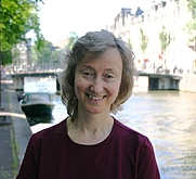 Author photo. Susanne van der Kleij