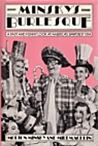 Minsky's burlesque by Morton Minsky