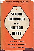 Sexual Behavior in the Human Male by Alfred…