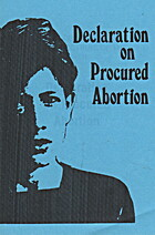 Declaration on Procured Abortion by…