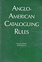 Anglo-American Cataloging Rules by Michael…