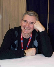 Author photo. NYCC 2009
