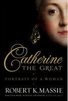cover image of catherine the great by robert massie