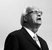 Author photo. Thielicke, Prof. Dr.: Evangelischer Theologe, Bundesrepublik Deutschland November 1973
