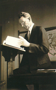 Author photo. Photo of Cornelius Van Til from The Works of Cornelius Van Til, 1895-1987, CD-ROM (New York: Labels Army Co., 1997), ISBN 0875524613