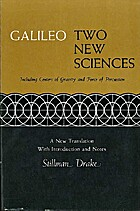 Galileo: Two New Sciences, including Centers…