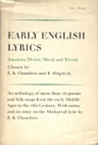 Early English lyrics : amorous, divine,…