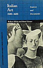 italian art 1500 1600  sources