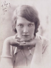 Author photo. Jean Rhys foto: Modernista