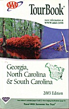 Tourbook. Georgia, North Carolina, South…