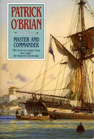 cover image of master and commander by patrick o brian