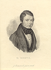 Author photo. Engraving of N. Beets (Hildebrand) by Grebner/Lange