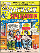 American Splendor #1 by Harvey Pekar
