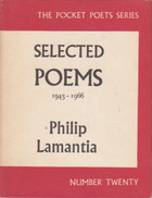 Selected poems, 1943-1966 by Philip Lamantia