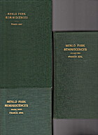 MENLO PARK REMINISCENCES, 3 VOLUMES by…