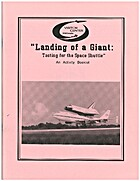 Landing of a giant: Testing for the Space…