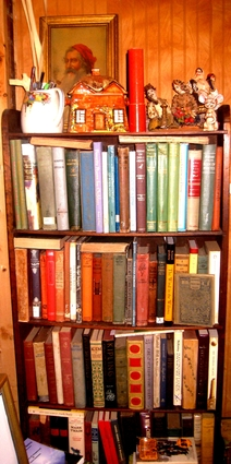 some of my old loves are on these shelves - Childrens Bookshelves