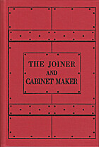 The Joiner and Cabinet Maker by Christopher…
