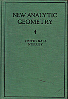 New Analytic Geometry Rev Edition by Percey…