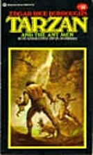 Tarzan and the Ant Men by Edgar Rice…