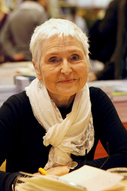 Author photo. Herbjørg Wassmo - Salon du livre, Paris, march 2011 - Photo by: Thesupermat