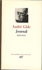 Journal, 1889-1939 by André Gide