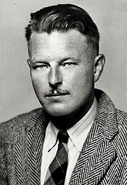 Author photo. Malcolm Lowry foto: Modernista
