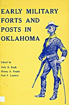 Early Military Forts and Posts in Oklahoma…