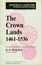 THE CROWN LANDS 1461-1536: AN ASPECT OF…