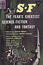 SF: The Year's Greatest Science Fiction and…
