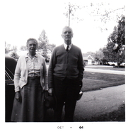 Author photo. Marion &amp; James Thompson, my grandparents.