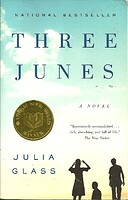 cover image of three junes by julia glass
