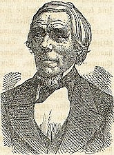 Author photo. Elias Lönnrot from <i>Maamme kirja</i> by Zacharias Topelius