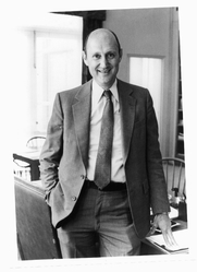 Author photo. Prof. Burton Gordon Malkiel. Photo by J.D. Levine/Yale (photo courtesy of Princeton University)