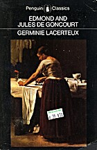 Germinie Lacerteux by Edmond Goncourt