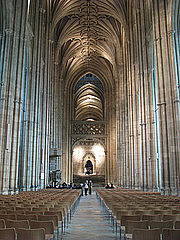 Author photo. Nave, Caterbury Cathedral. Image by Jim Bowen / Flickr.