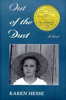 cover image of out of the dust by karen hesse