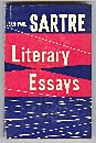 Literary Essays by Jean-Paul Sartre
