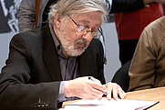 Author photo. from Wikipedia Jacques Tardi en dédicace au Salon du livre de Paris. Author Georges Seguin