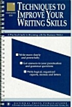 Techniques to Improve Your Writing Skills…