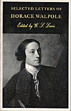 Selected Letters of Horace Walpole by Horace…