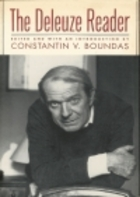 The Deleuze Reader by Gilles Deleuze