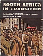 South Africa in Transition by Alan Paton