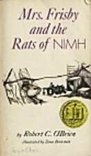 Mrs. Frisby and the Rats of NIMH by Robert…