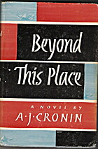 The Sword of Justice by A. J. Cronin