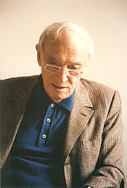 Author photo. Saul Bellow - Photograph taken during the Dejan Stojanovic's interview with Saul Bellow at the University of Chicago in the spring of 1992.