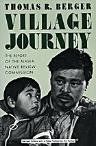 Village journey : the report of the Alaska…